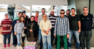 CAVIGA i STP Group celebran el Sant Jordi en Viladecans