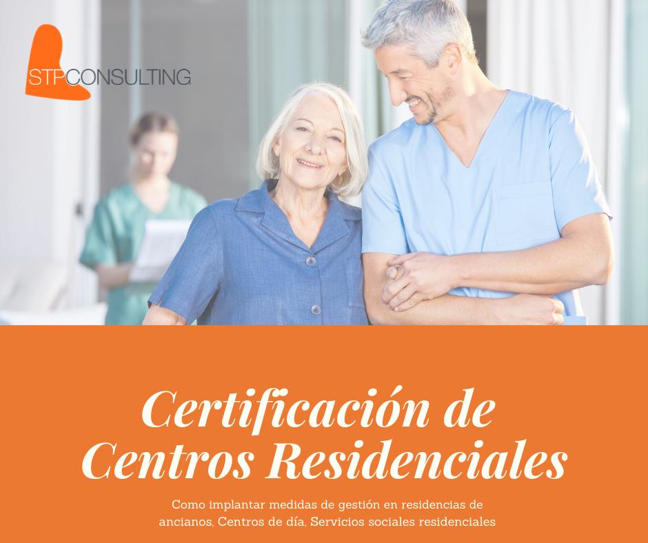 Certificación de centros residenciales
